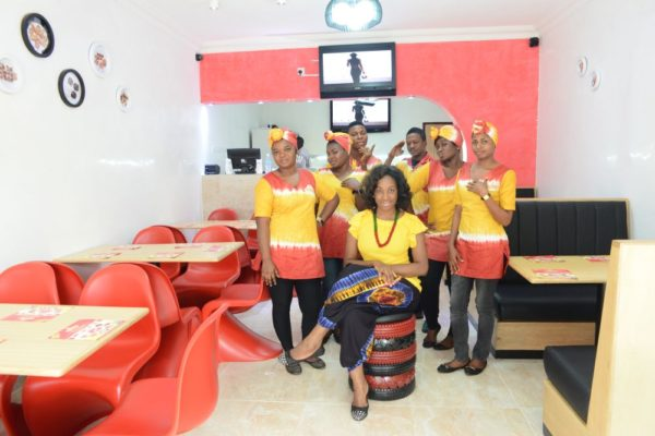 Grubbies Fast Food Eatery & Catering Services Launch - BellaNaija - August2014014