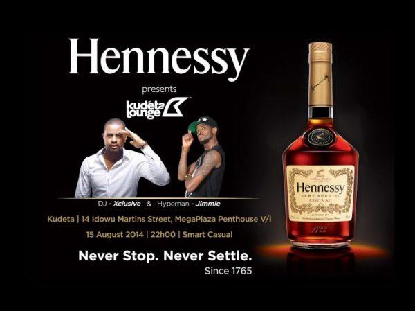 Hennessy presents Kudeta Lounge - Bellanaija - August2014