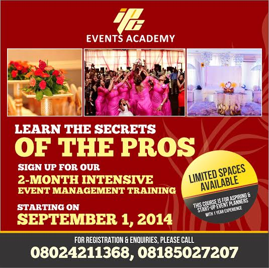IPC Events Academy - Bellanaija - August2014