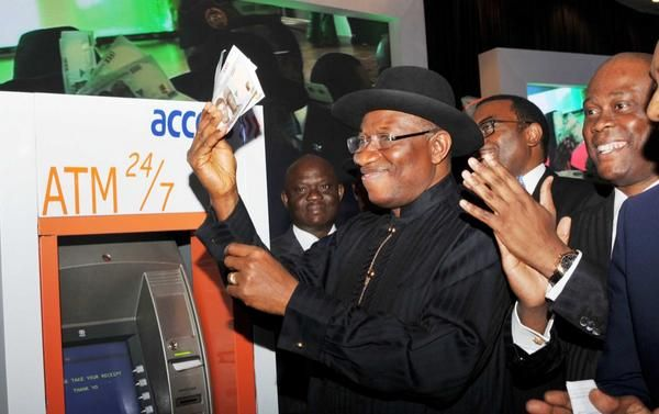Jonathan unveils E-ID Card- August - 2014 - BellaNaija006