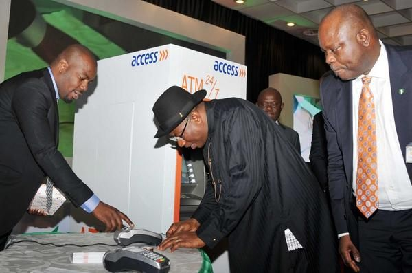 Jonathan unveils E-ID Card- August - 2014 - BellaNaija007
