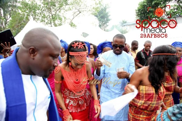 Jude Okoye and Ify Traditional Igbo Wedding in Anambra | SpacoMedia | BellaNaija 0001