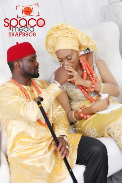 Jude Okoye and Ify Traditional Igbo Wedding in Anambra | SpacoMedia | BellaNaija 0011