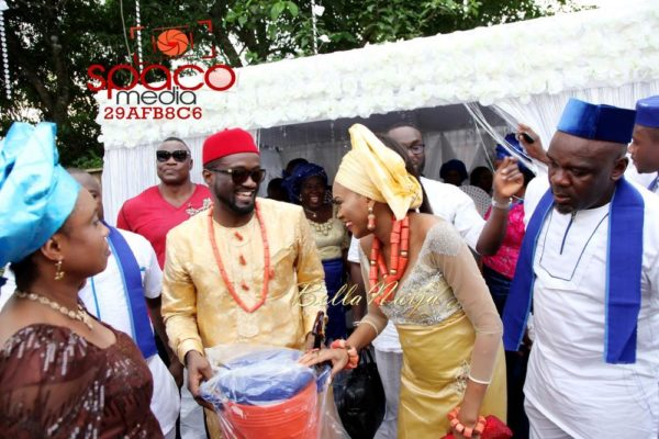 Jude Okoye and Ify Traditional Igbo Wedding in Anambra | SpacoMedia | BellaNaija 0014
