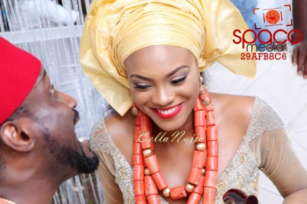 Jude Okoye and Ify Traditional Igbo Wedding in Anambra | SpacoMedia | BellaNaija 0017