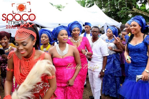 Jude Okoye and Ify Traditional Igbo Wedding in Anambra | SpacoMedia | BellaNaija 0023