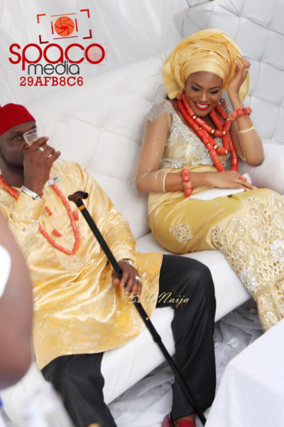 Jude Okoye and Ify Traditional Igbo Wedding in Anambra | SpacoMedia | BellaNaija 0027