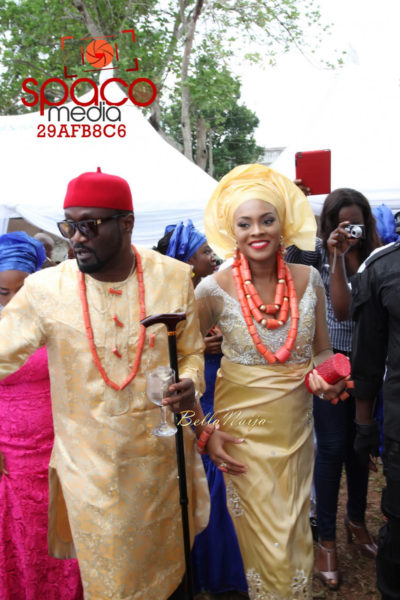 Jude Okoye and Ify Traditional Igbo Wedding in Anambra | SpacoMedia | BellaNaija 0033