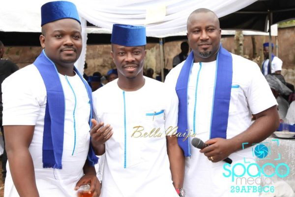 Jude Okoye and Ify Traditional Igbo Wedding in Anambra | SpacoMedia | BellaNaija 0038