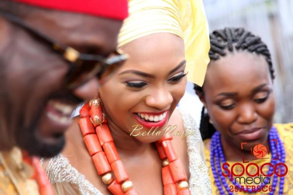 Jude Okoye and Ify Traditional Igbo Wedding in Anambra | SpacoMedia | BellaNaija 0040