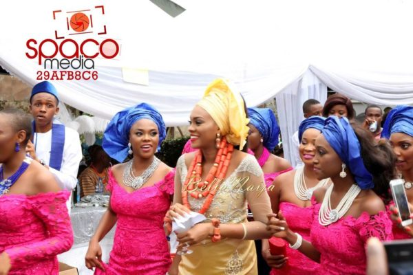Jude Okoye and Ify Traditional Igbo Wedding in Anambra | SpacoMedia | BellaNaija 0041