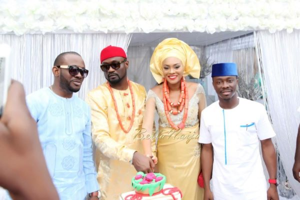 Jude Okoye and Ify Traditional Igbo Wedding in Anambra | SpacoMedia | BellaNaija 0042