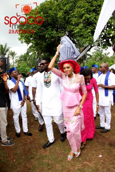 Jude Okoye and Ify Traditional Igbo Wedding in Anambra | SpacoMedia | BellaNaija 0049