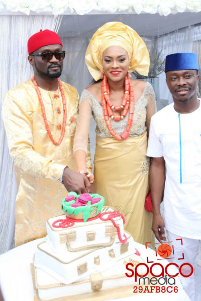 Jude Okoye and Ify Traditional Igbo Wedding in Anambra | SpacoMedia | BellaNaija 0053