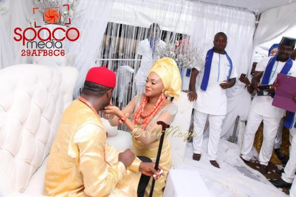 Jude Okoye and Ify Traditional Igbo Wedding in Anambra | SpacoMedia | BellaNaija 0057
