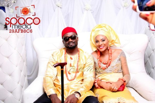 Jude Okoye and Ify Traditional Igbo Wedding in Anambra | SpacoMedia | BellaNaija 0062