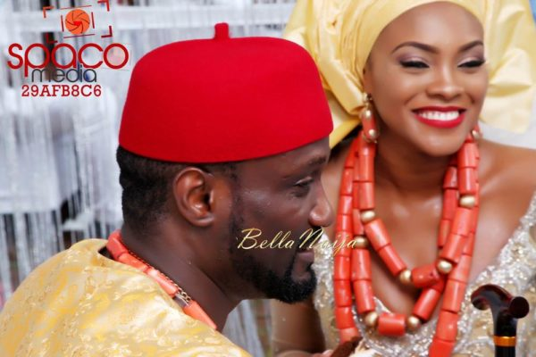 Jude Okoye and Ify Traditional Igbo Wedding in Anambra | SpacoMedia | BellaNaija 0075