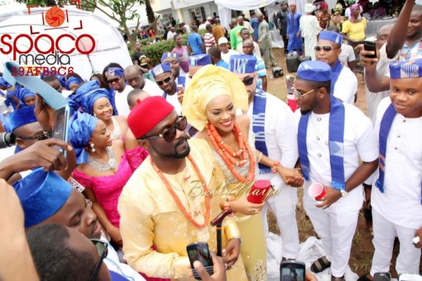 Jude Okoye and Ify Traditional Igbo Wedding in Anambra | SpacoMedia | BellaNaija 0084