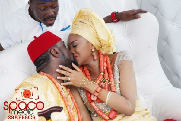 Jude Okoye and Ify Traditional Igbo Wedding in Anambra | SpacoMedia | BellaNaija 0088