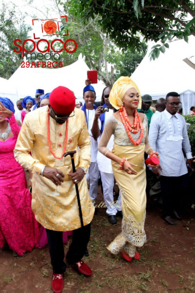 Jude Okoye and Ify Traditional Igbo Wedding in Anambra | SpacoMedia | BellaNaija 0089