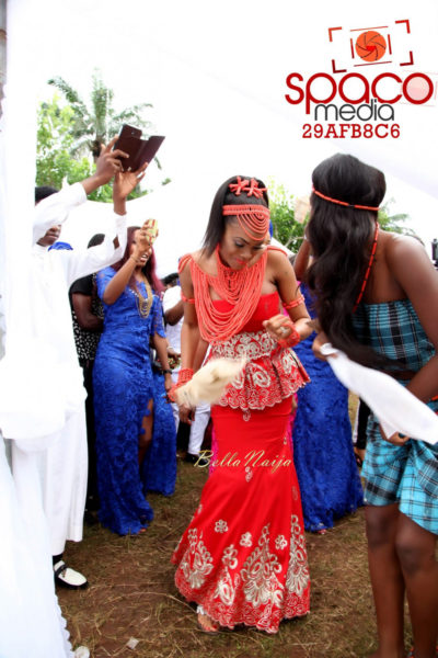 Jude Okoye and Ify Traditional Igbo Wedding in Anambra | SpacoMedia | BellaNaija 0094