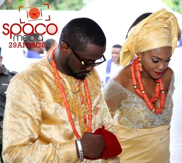 Jude Okoye and Ify Traditional Igbo Wedding in Anambra | SpacoMedia | BellaNaija 0099