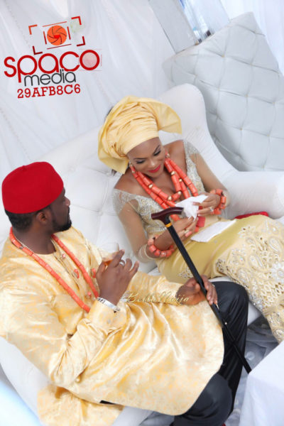 Jude Okoye and Ify Traditional Igbo Wedding in Anambra | SpacoMedia | BellaNaija 0103