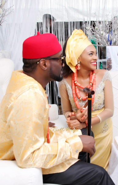 Jude Okoye and Ify Traditional Igbo Wedding in Anambra | SpacoMedia | BellaNaija 0104