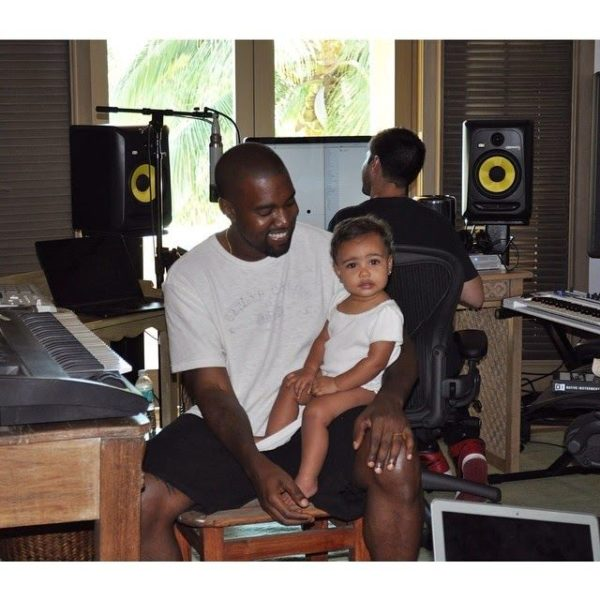 Kanye & North West - August 2014 - BellaNaija.com 01