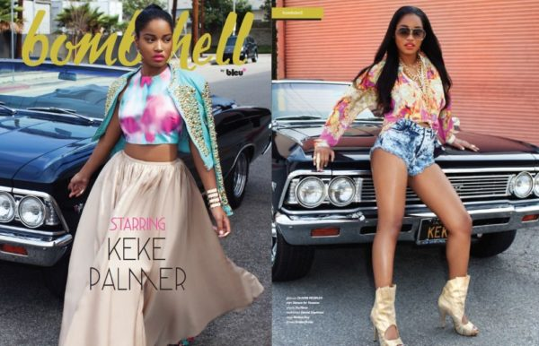 Keke Palmer for Bombshell Magazine - Bellanaijua - August2014005