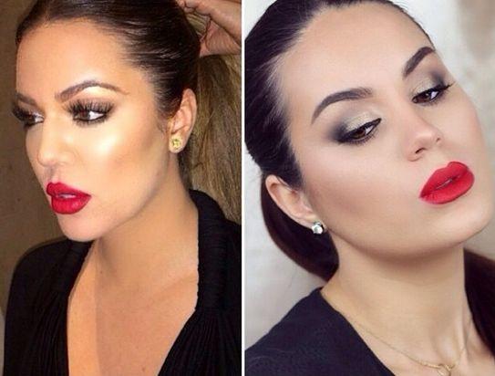 Khloe Kardashian Makeup Tutorial - Bellanaija - July2014