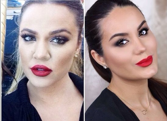 Khloe Kardashian Makeup Tutorial - Bellanaija - July2014001