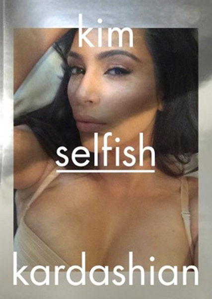 Kim Kardashian - August - Book on Selfies - BellaNaija.com 01