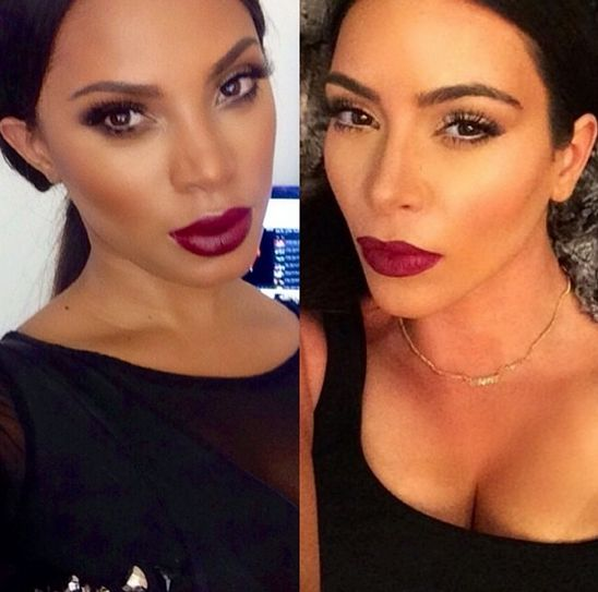 Kim Kardashian Makeup Tutorial - Bellanaija - July2014