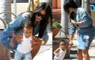 Kim Kardashian & North West - August 2014 - BN Movies & TV - BellaNaija.com 01