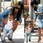 Kim Kardashian & North West - August 2014 - BN Movies & TV - BellaNaija.com 01