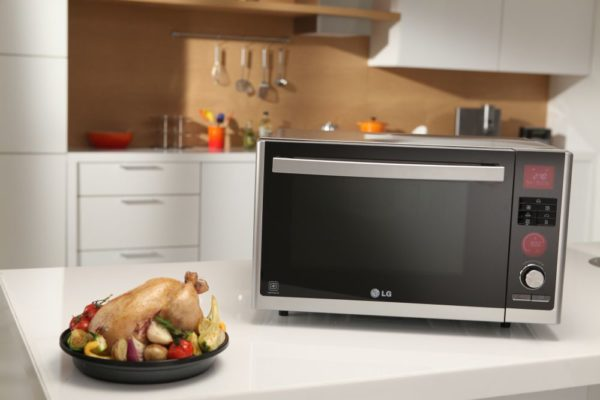 LG Lightwave Charcoal Microwave - BellaNaija - July2014004