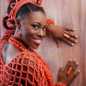 Looks by Hilda   Benin Edo Bridal Makeup   BellaNaija 006