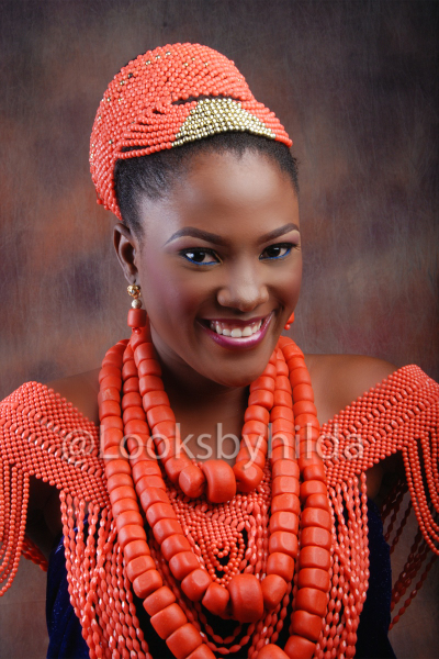 Looks by Hilda | Benin Edo Bridal Makeup | BellaNaija 025