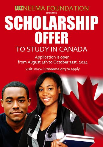 Luzneema Foundation Scholarship Offer - Bellanaija - August 2014