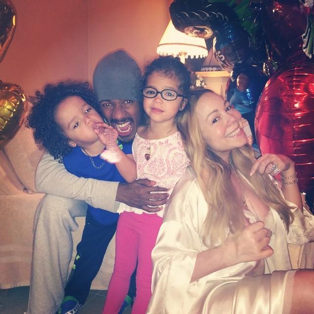 Mariah, Nick & Kids - BellaNaija.com 01