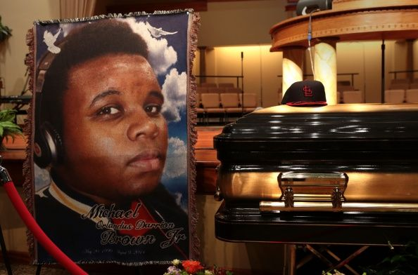 Funeral Held For Teen Shot To Death By Police In Ferguson, MO