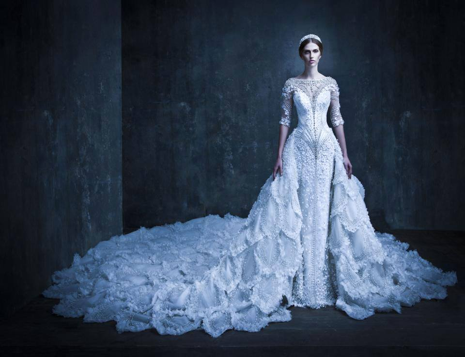 BN Bridal: Michael Cinco SS & FW 2014 Collections - BellaNaija