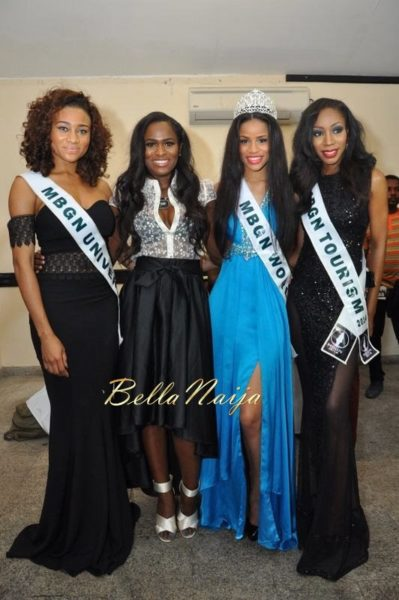 """Celestine Queen, Yvonne """"Vixen' Ekwere, Iheoma Nnadi, Chinyere Adogu"""