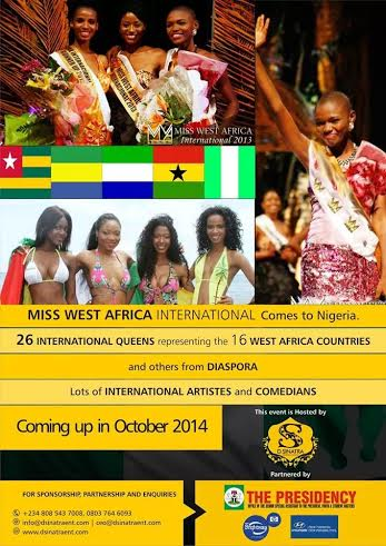 Miss West Africa International - Bellanaija - August2014