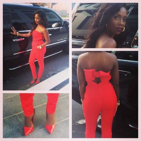 Tiwa Savage in Valentino