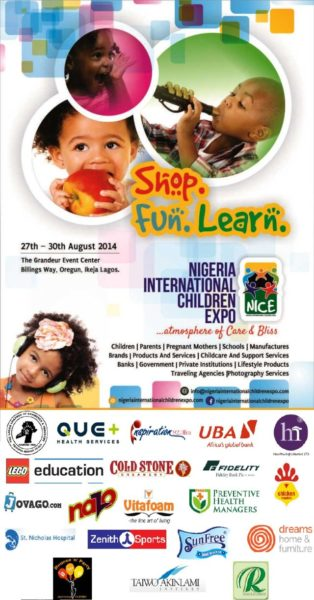 Nigeria International Children Expo - August 2014 - BN Events - BellaNaija.com 01