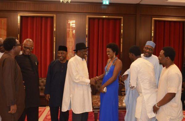 Omoni Oboli at Presidential Villa - August 2014 - BN Movies & TV - BellaNaija.com