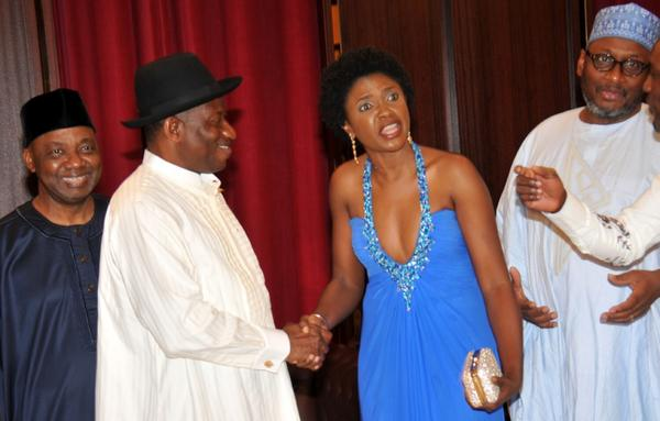 Omoni Oboli at Presidential Villa - August 2014 - BellaNaija.com 01 (1)