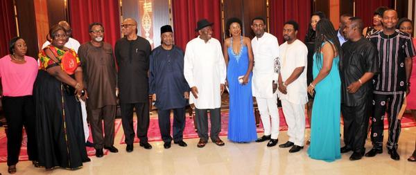 Omoni Oboli at Presidential Villa - August 2014 - BellaNaija.com 01 (3)